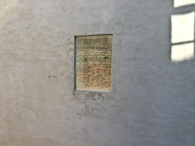 Genskin i et vindue