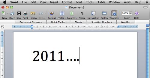 Vær velkommen 2011...