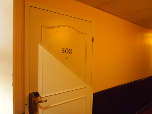 502 - en overnatning ud af tusindvis.