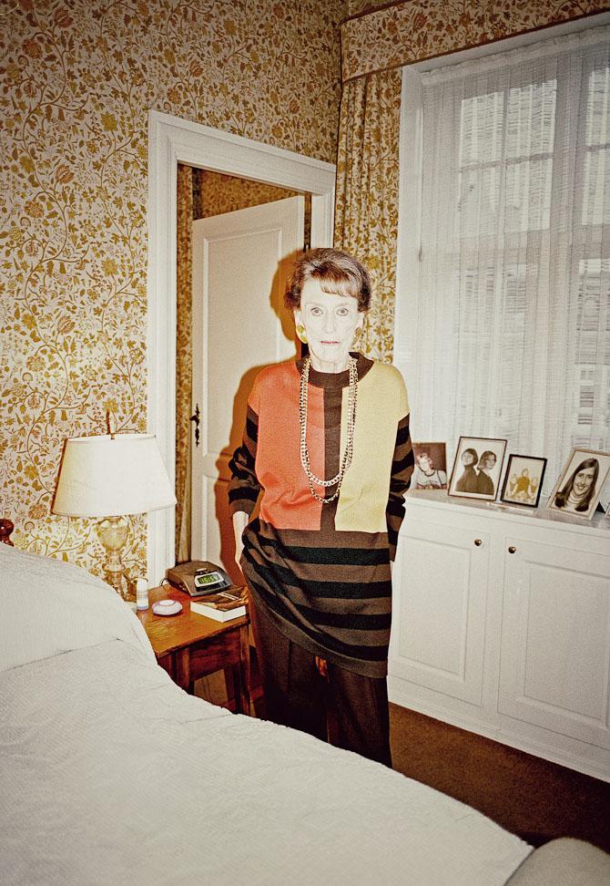 En ældre kvinde