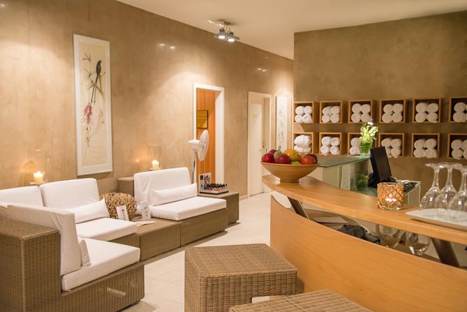 Wellness-afdelingen byder på sauna, afslapning og massage