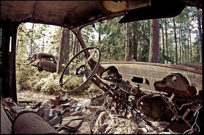 Foto fra bogen Abandoned af Elhøj og Kirckhoff