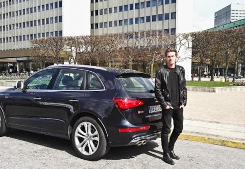 En Audi SQ5 og en flot mand ved navn Andreas