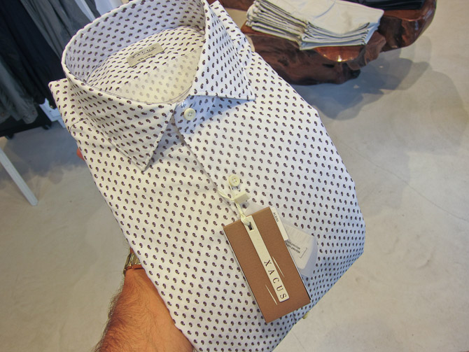 Formelt udsalgsbud: Xacus skjorte