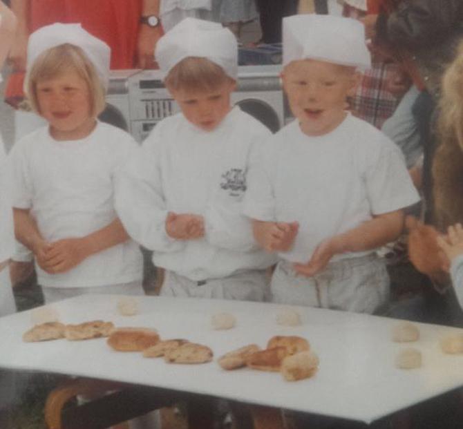 Engang for længe siden. De endte dog ikke som bagere