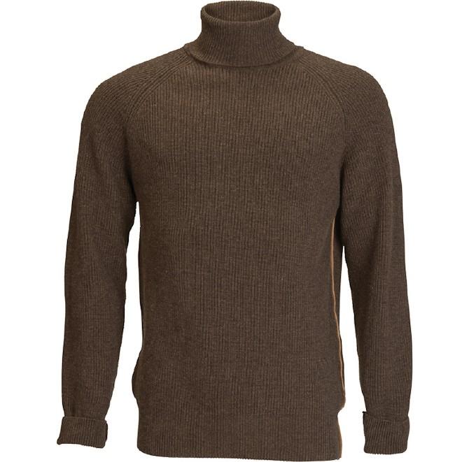 En strikket sag. Forvent strikvarer i 100% merino uld og cashmereblandinger.