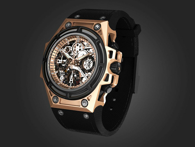 SpidoSpeed Rosegold Black