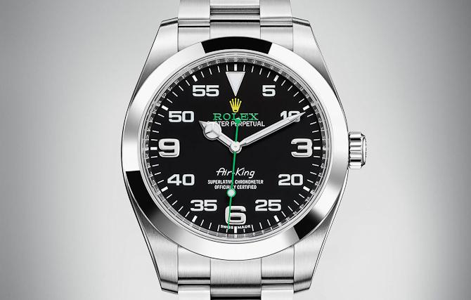 Rolex Air-King - den der deler vandene