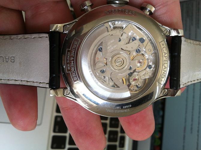 Baume & Mercier Capeland Flyback en læser og hans ur del VIII