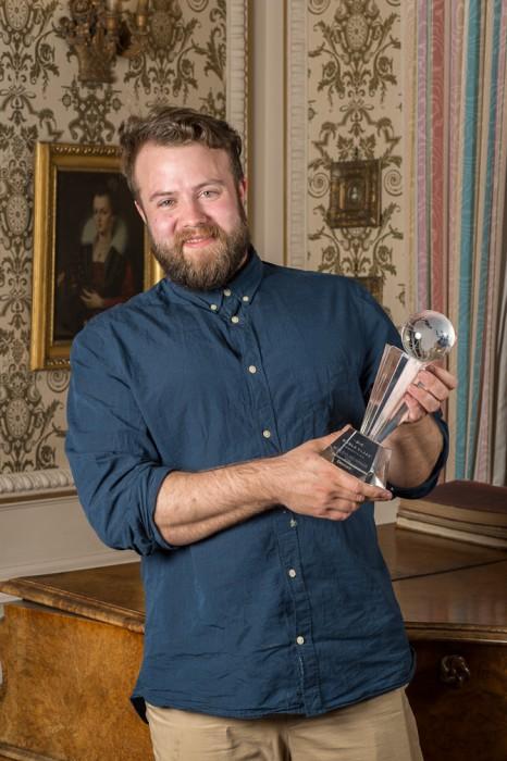 En glad nordisk vinder. Jonas Brandenborg Andersen fra Mash Penthouse