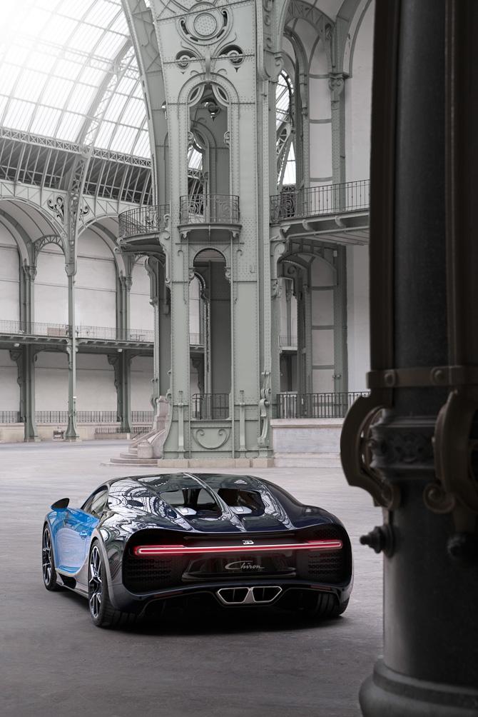 Den nye Chiron ved Grand Palais i Paris