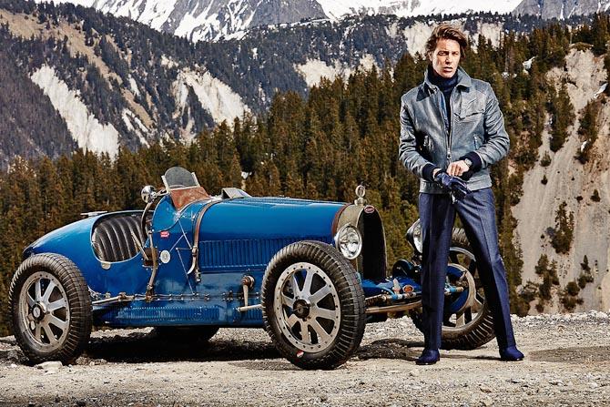 Den gamle Bugatti Type 35