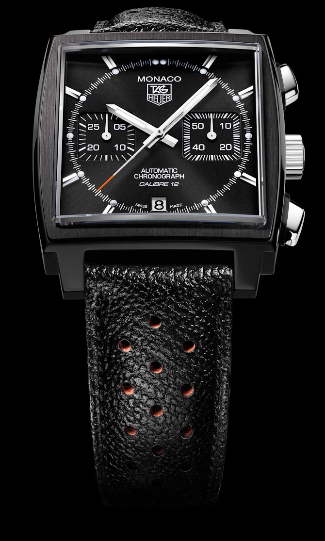 Monaco Calibre 12 Black Edition