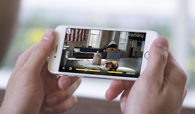 Følg med fra app'en i din telefon