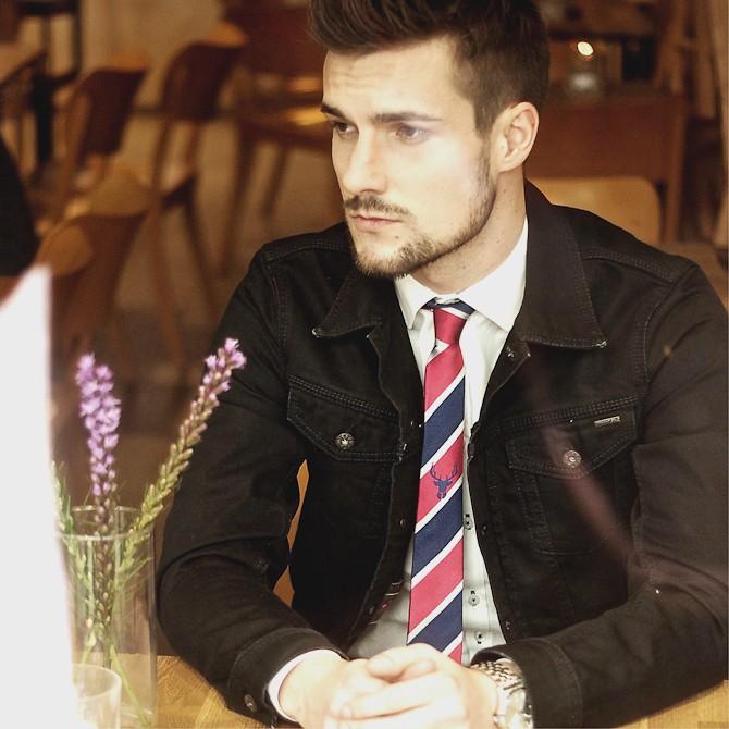 Et slips som dette fås online - og nu også i Odense