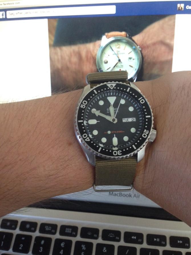 Casper Breum med ur med ur på