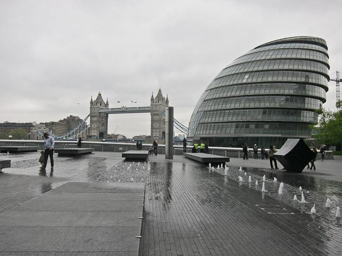 Den er god nok - vi er i London...