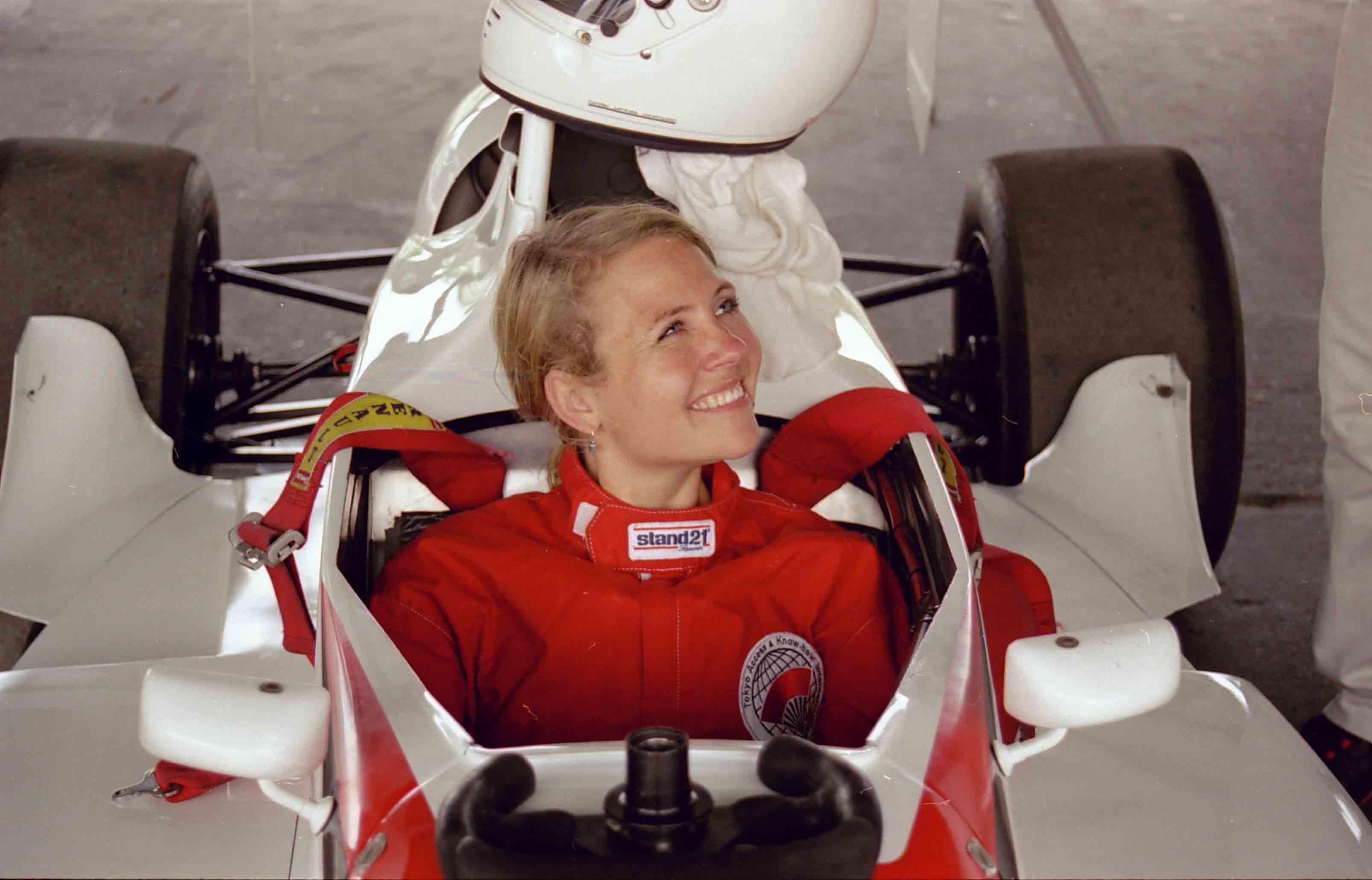 Christiane Vejlø på farten - dog ikke i en A6...