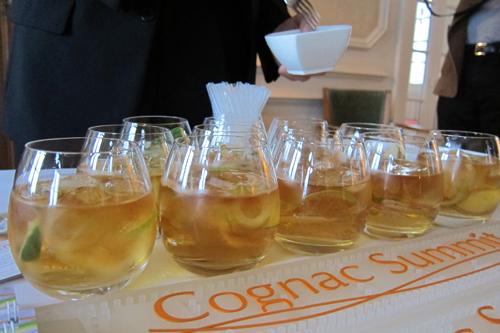 Således ser Cognac Summit ud, når den er næsten færdig - og når Braastad VSOP er hældt i...