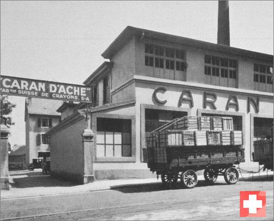 Det begyndte for små 100 år siden - og du kender måske også Caran d'Ache for deres tegneredskaber. Foto: www.carandache.ch