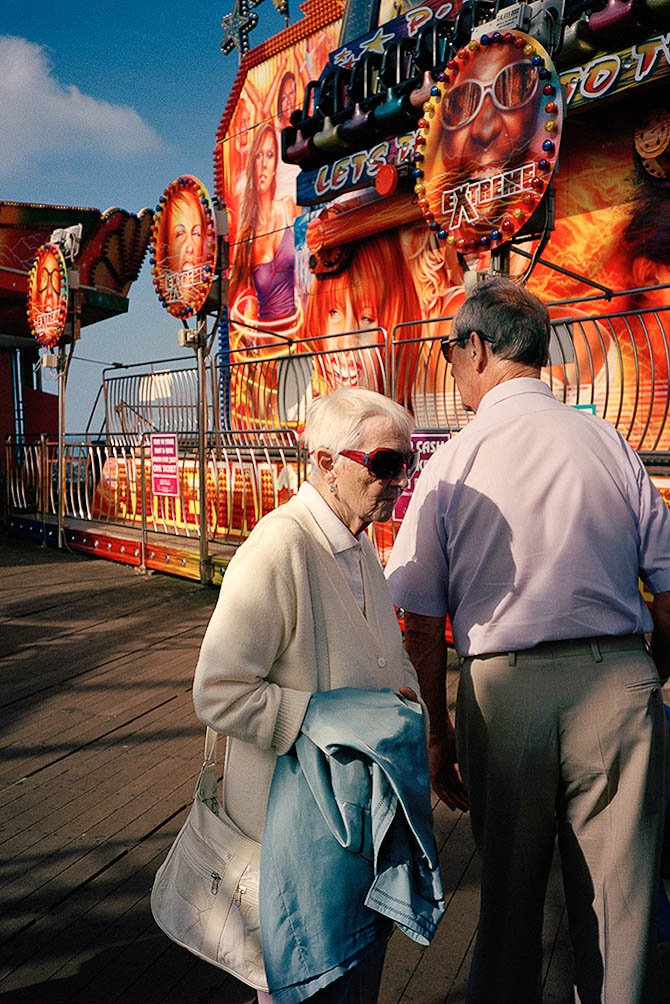 Couple in Blackpool