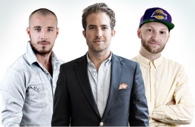 De tre danske...