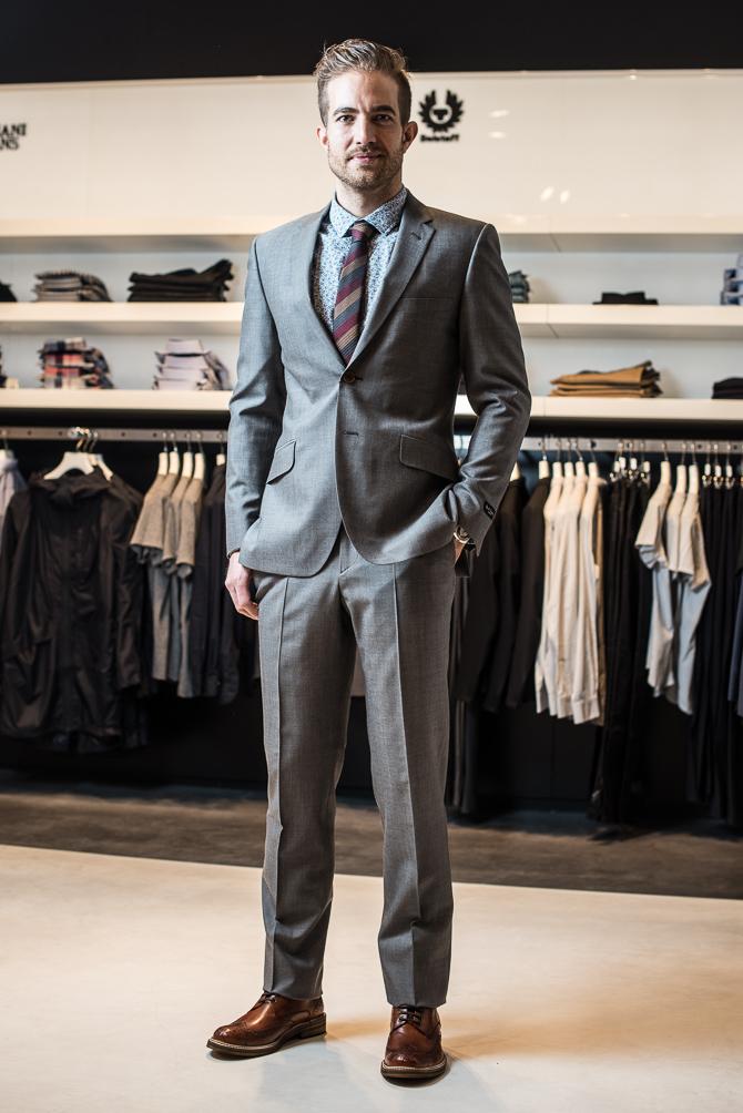 Til hverdag og fest - et suit gør sig bedst.