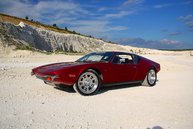 Pronto! De Tomaso er navnet - modellen hedder Pantera