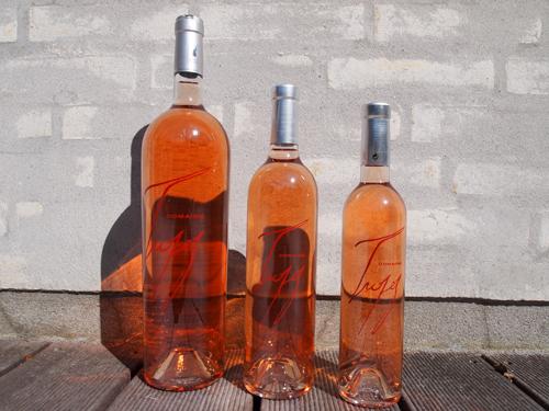 På en solrig sommerdag, stillede de tre rosé'er op til fotoshoot - de har prøvet det før, så den var i kassen første gang.