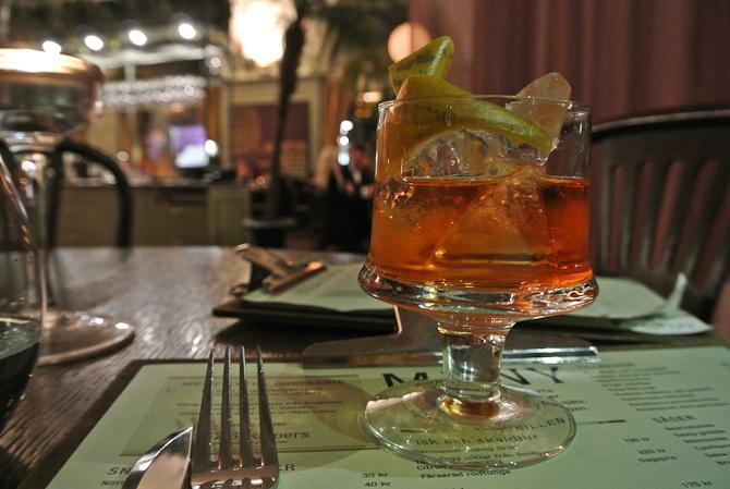 Signatur-cocktail