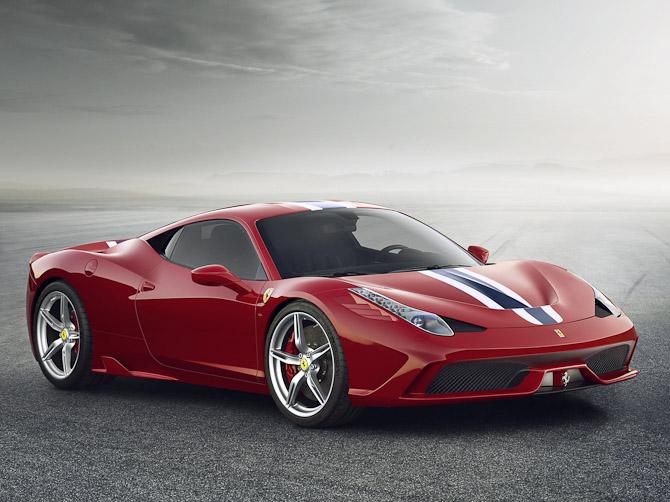 Det er denne herlige sag, vi i dag skal gøres klogere på. Ferrari 458 Speciale er navnet.