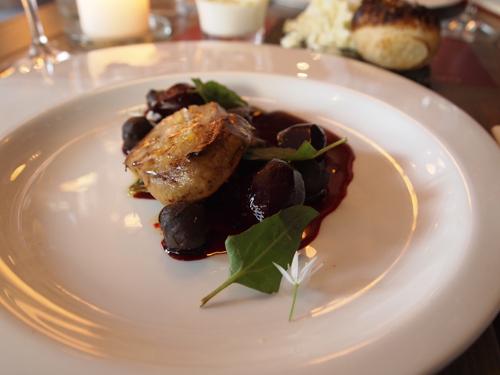 Det var foie gras som denne portion, der satte gæstebloggeren på en eftersøgning. Foto fra tidligere My-Pleasure indlæg...