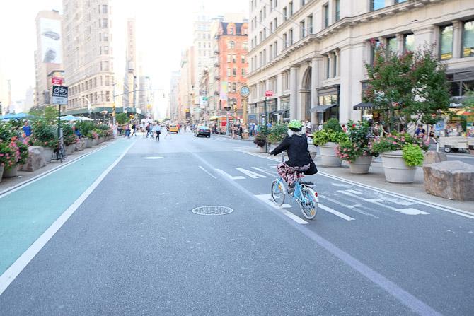 Cykelkulren vinder langsomt frem