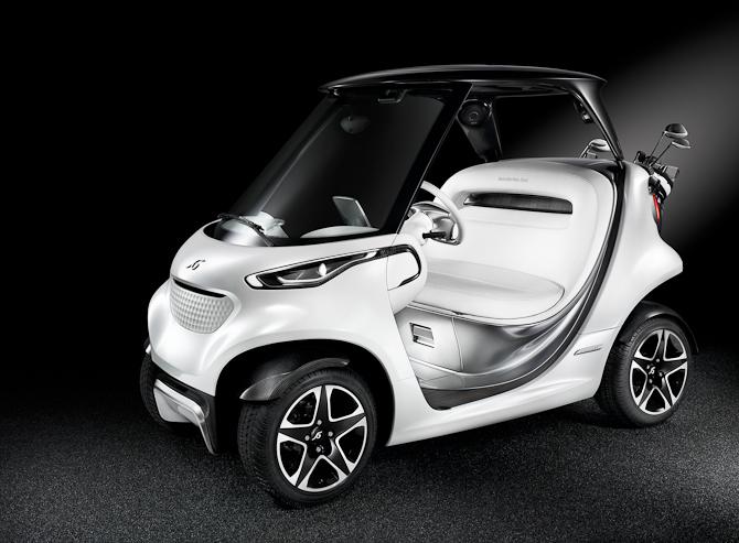 Det fulde navn lyder i øvrigt Mercedes Benz Style Edition Garia Golf Car