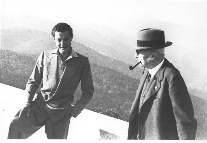 En ung Giovanni Agnelli  anno 1940. Foto: WikiPedia