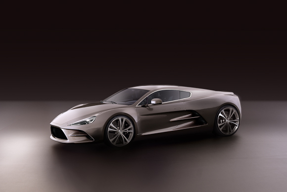 HBH International og Jesper Rosetzsky Hermanns Aston Martin projekt kan beskrives med et ord: Smukt.