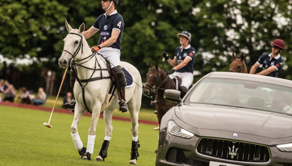 Hans Royale Højhed  Pris William til hest som spillende deltager ved Maserati Royal Charity Polo Trophy ved Beaufort Polo Club den 18. juni 2016 i Tetbury, England. Foto: Chris Jackson/Getty Images for Maserati and La Martina)