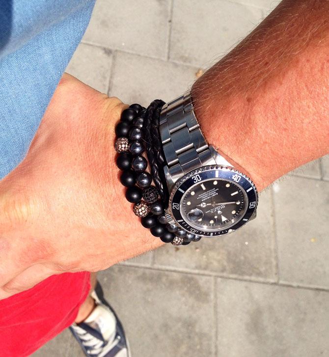 Berg med Rolex ref. 168000