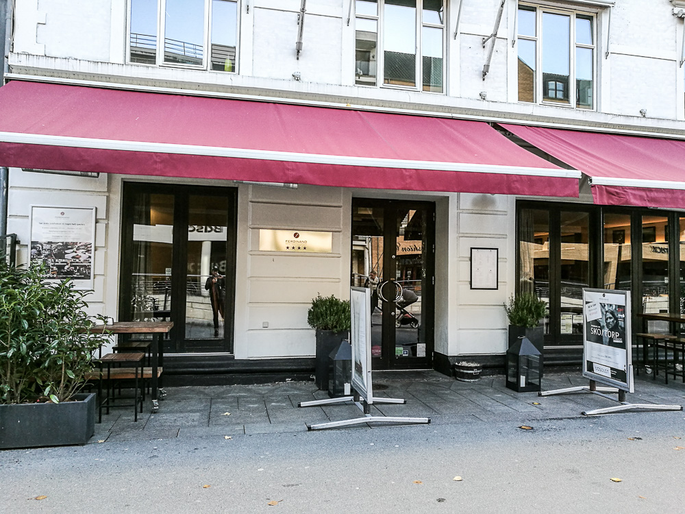 Hotel Ferdinand. I Aarhus.