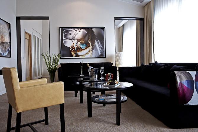 Det er i et værelse som dette, at du kan booke en weekend...