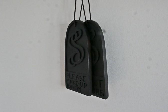 Detalje til døren