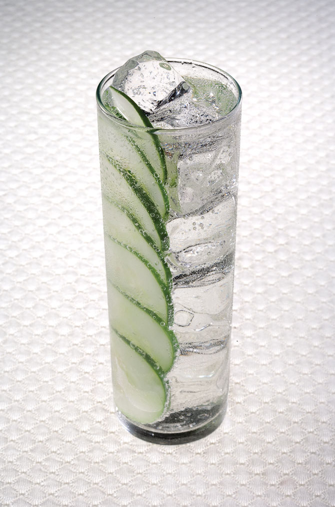 gin tonic agurk