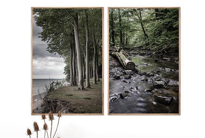 Så er der fotokunst til dit hjem. Og din væg.