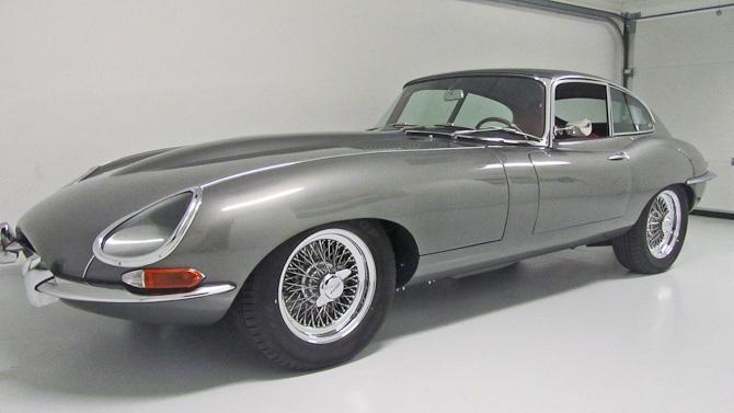 Indbegrebet af smuk materialisme: Jaguar E-type