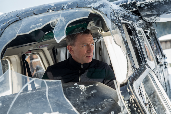 Bond i Tirol. Foto: Sony Pictures Releasing GmbH