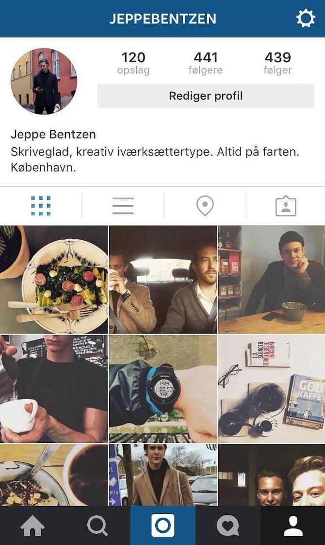 Jeppe er på Instagram. Følg ham.