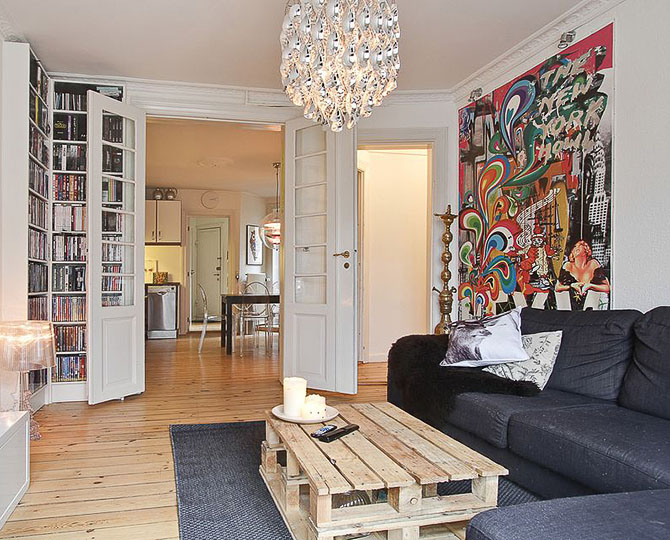 Sexy NY. Et værk fra Johan i et privat hjem.