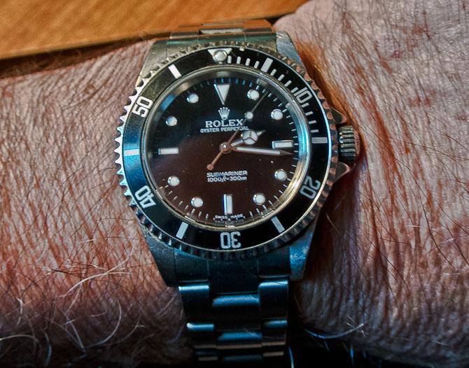 John K med en klassiker fra Rolex