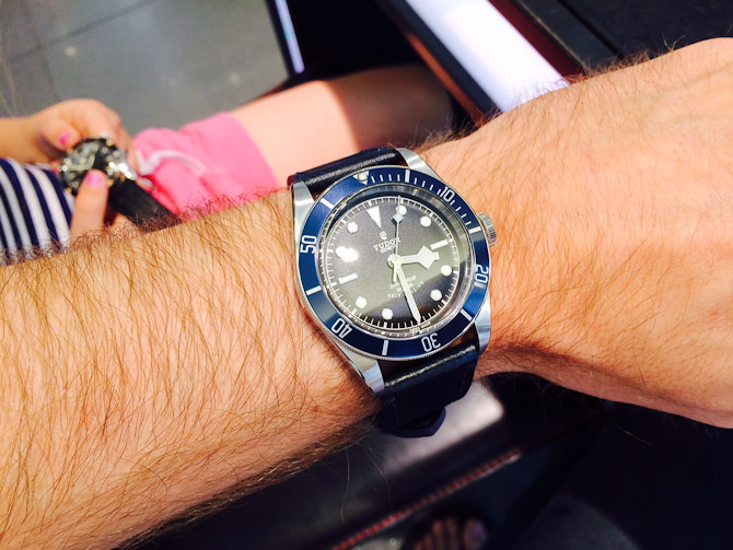 Tudor Black Bay Blue anno 2014 fra Johnny