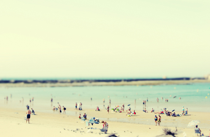 Fotografen Margarita Kazanovich har foreviget stranden ved spanske Cadiz.